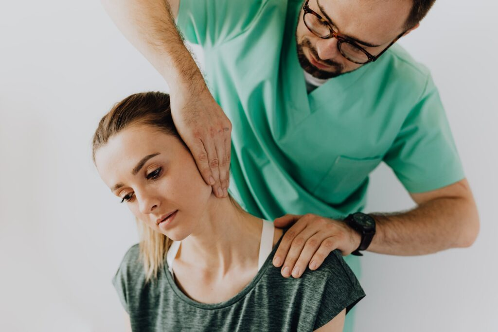 easing neck pain