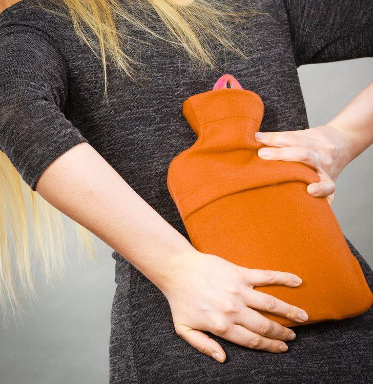 hot water bottle back pain