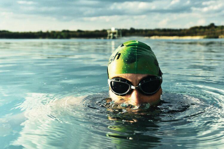 open lake swimmer